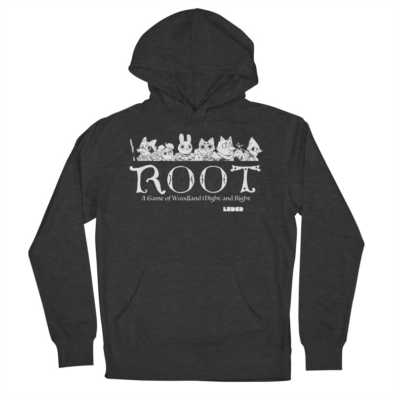 Root Logo Women's French Terry Pullover Hoody by Kyle Ferrin's Artist Shop
