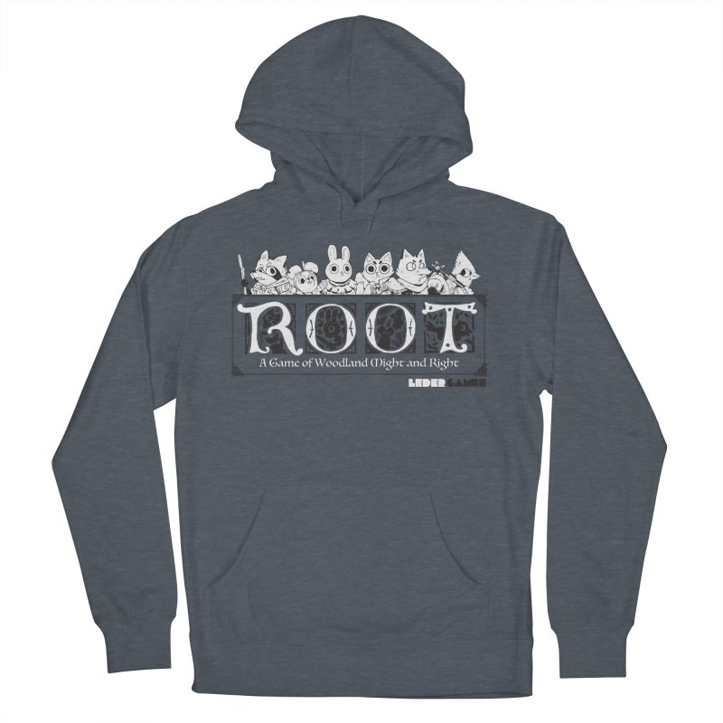 Root Logo Men's French Terry Pullover Hoody by Kyle Ferrin's Artist Shop