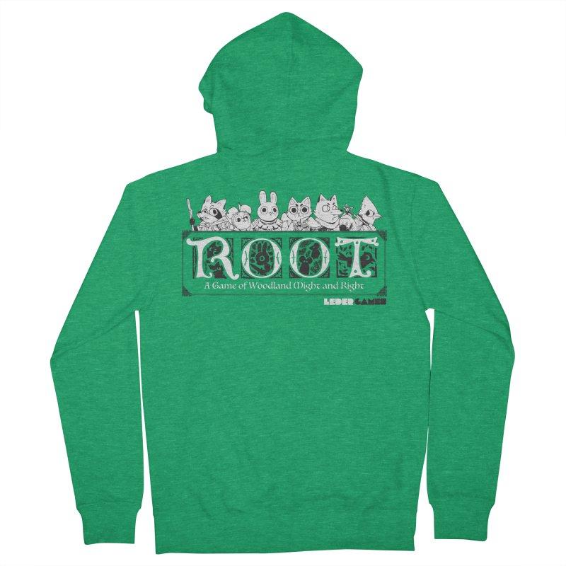 Root Logo Women's Zip-Up Hoody by Kyle Ferrin's Artist Shop