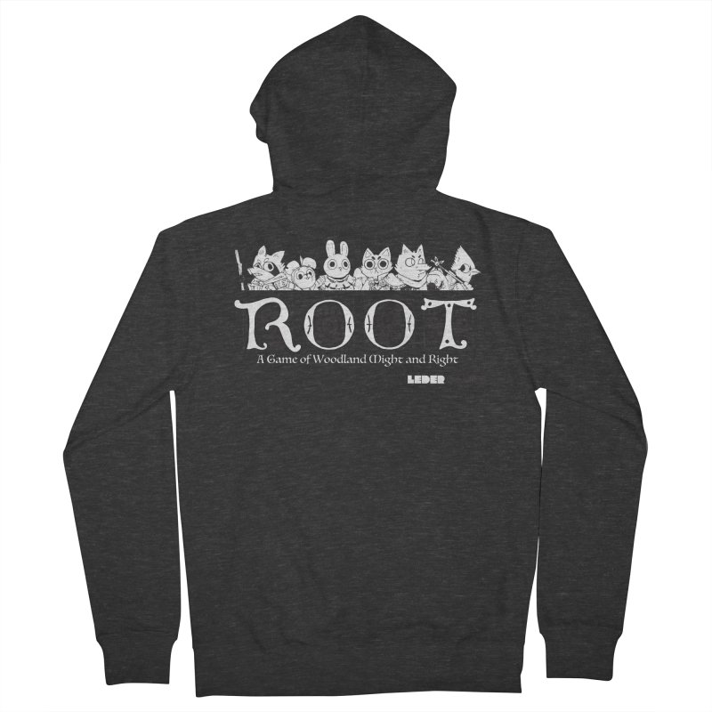 Root Logo Women's Zip-Up Hoody by Kyle Ferrin's Artist Shop