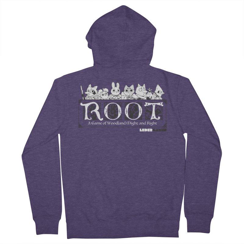 Root Logo Men's Zip-Up Hoody by Kyle Ferrin's Artist Shop