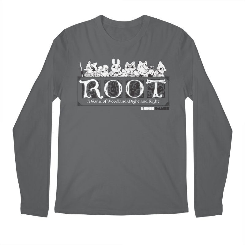 Root Logo Men's Regular Longsleeve T-Shirt by Kyle Ferrin's Artist Shop
