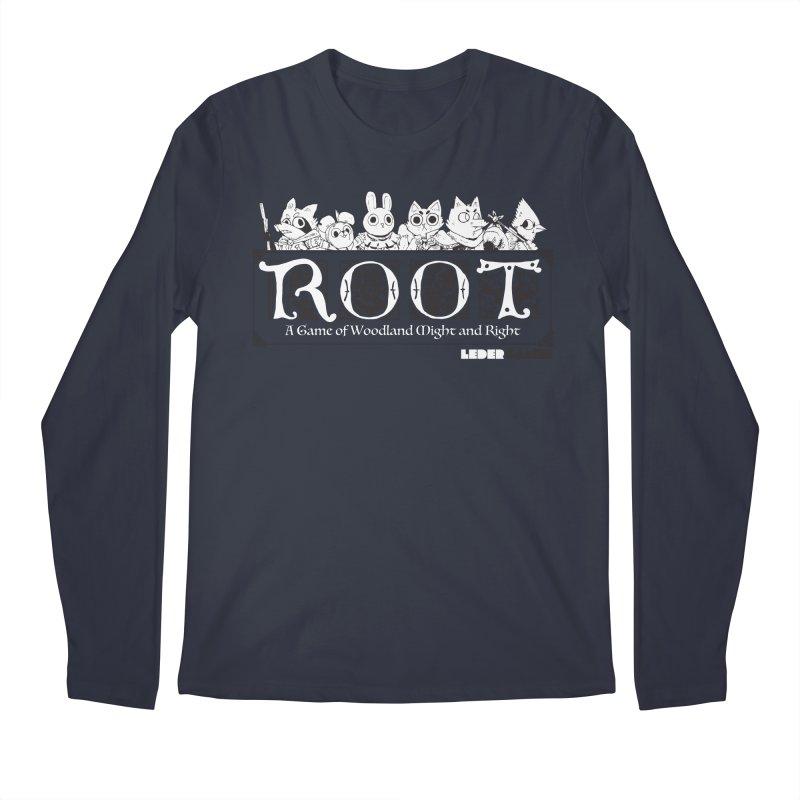 Root Logo Men's Longsleeve T-Shirt by Kyle Ferrin's Artist Shop