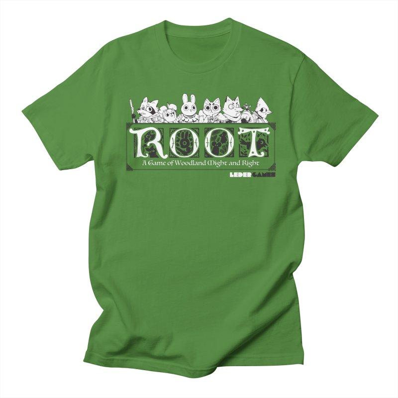 Root Logo Women's Regular Unisex T-Shirt by Kyle Ferrin's Artist Shop