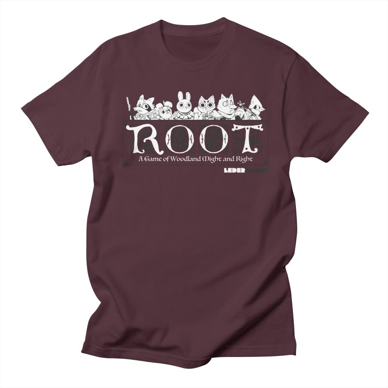 Root Logo Men's Regular T-Shirt by Kyle Ferrin's Artist Shop
