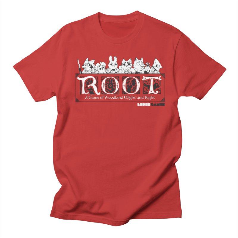 Root Logo Men's Regular T-Shirt by Kyle Ferrin's Artist Shop