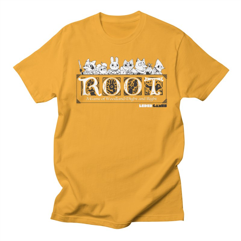 Root Logo Men's T-Shirt by Kyle Ferrin's Artist Shop