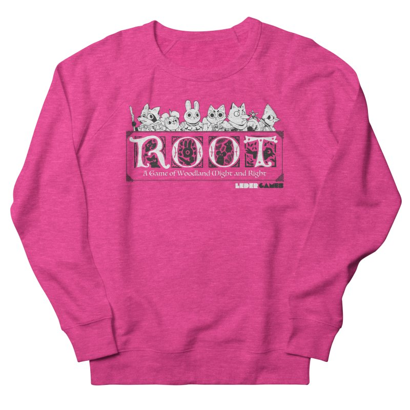 Root Logo Women's French Terry Sweatshirt by Kyle Ferrin's Artist Shop