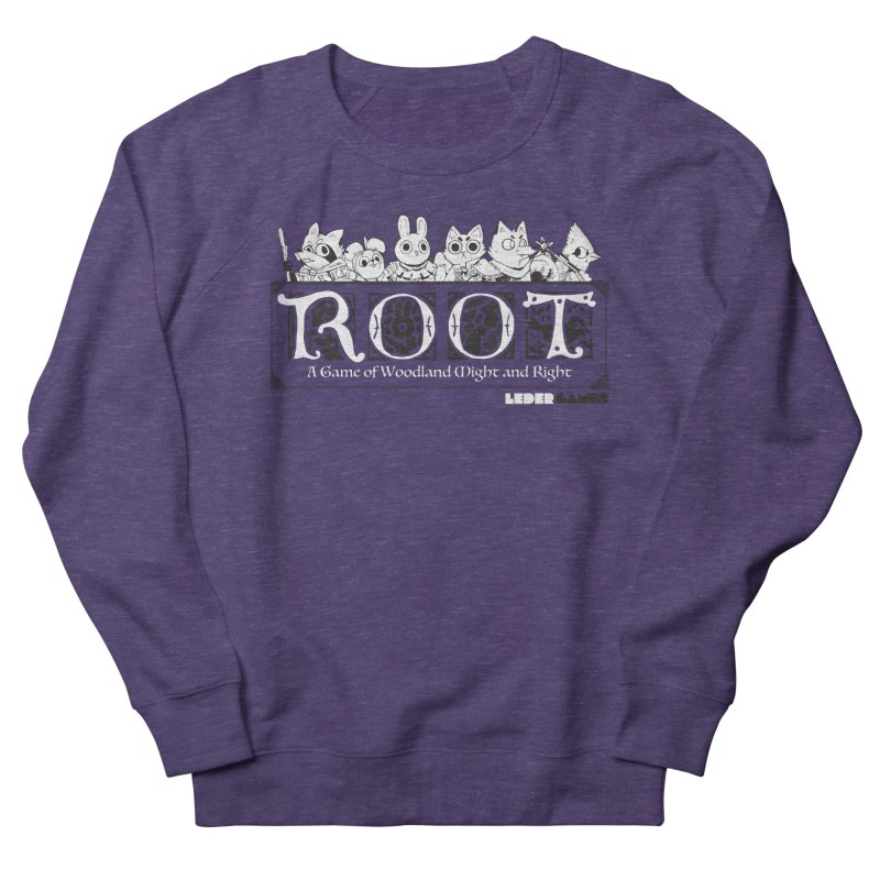 Root Logo Men's French Terry Sweatshirt by Kyle Ferrin's Artist Shop