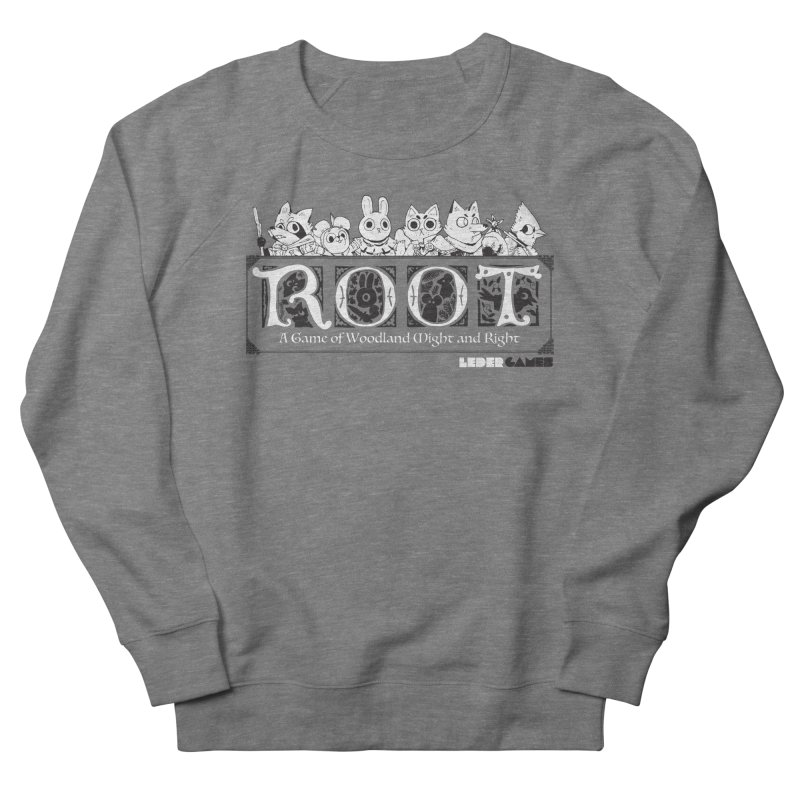 Root Logo Men's French Terry Sweatshirt by Kyle Ferrin's Artist Shop