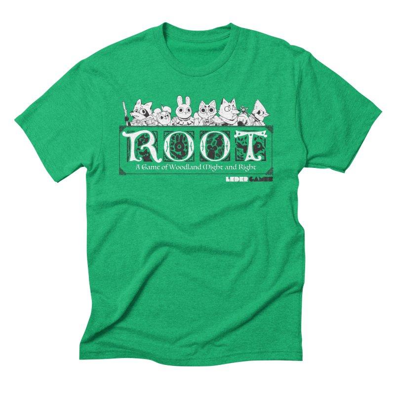 Root Logo Men's Triblend T-Shirt by Kyle Ferrin's Artist Shop