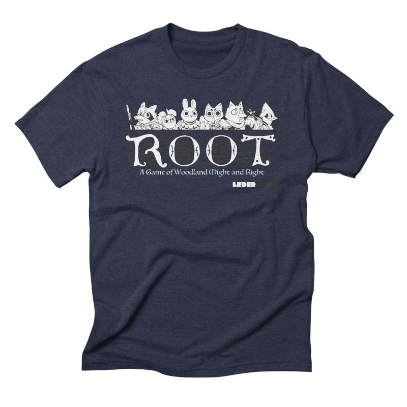 Root Logo Men's Triblend T-Shirt by Kyle Ferrin's Artist Shop