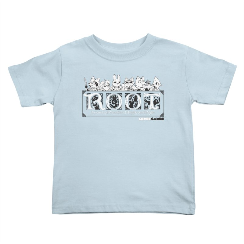 Root Logo Kids Toddler T-Shirt by Kyle Ferrin's Artist Shop