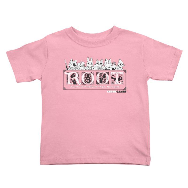 Root Logo Kids Toddler T-Shirt by Kyle Ferrin's Artist Shop