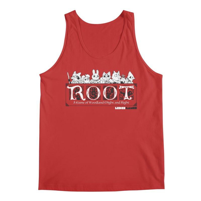 Root Logo Men's Regular Tank by Kyle Ferrin's Artist Shop