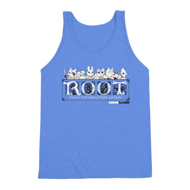 Root Logo Men's Triblend Tank by Kyle Ferrin's Artist Shop