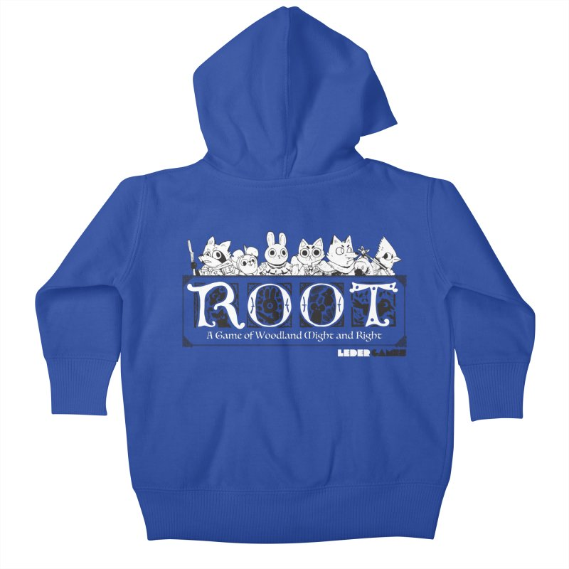 Root Logo Kids Baby Zip-Up Hoody by Kyle Ferrin's Artist Shop
