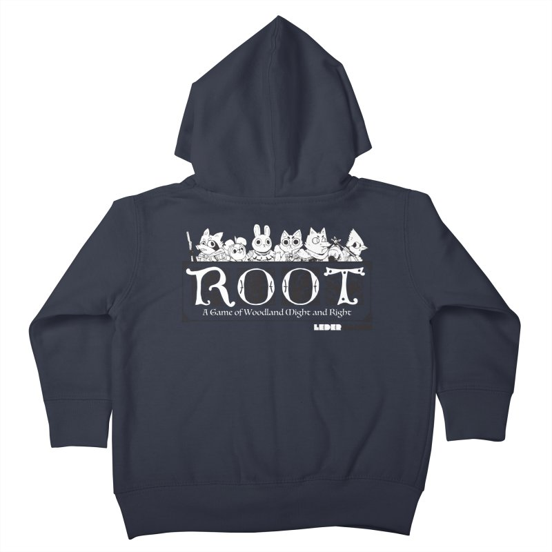 Root Logo Kids Toddler Zip-Up Hoody by Kyle Ferrin's Artist Shop