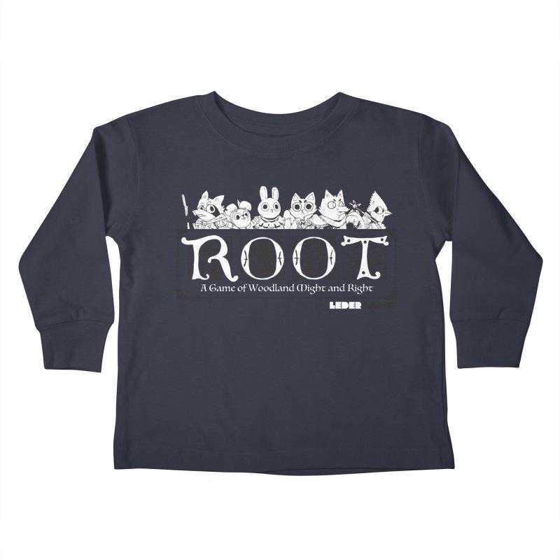 Root Logo Kids Toddler Longsleeve T-Shirt by Kyle Ferrin's Artist Shop