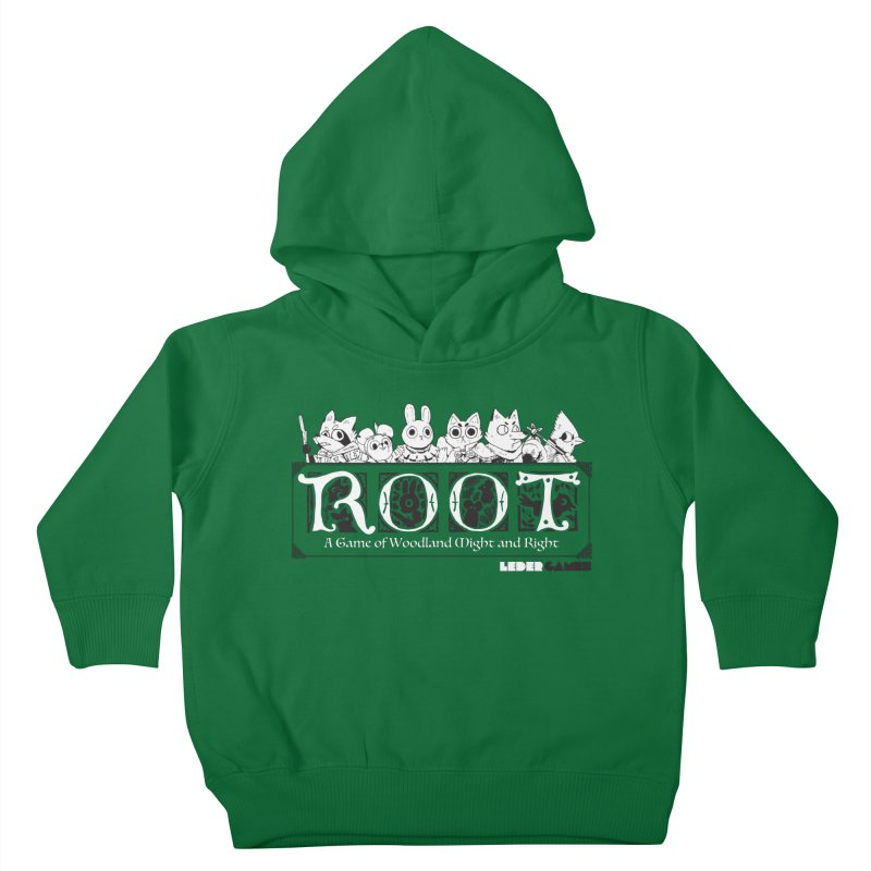 Root Logo Kids Toddler Pullover Hoody by Kyle Ferrin's Artist Shop
