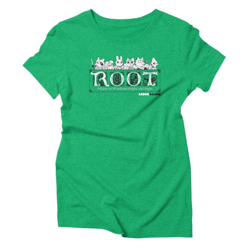 Root Logo Women's Triblend T-shirt by Kyle Ferrin's Artist Shop