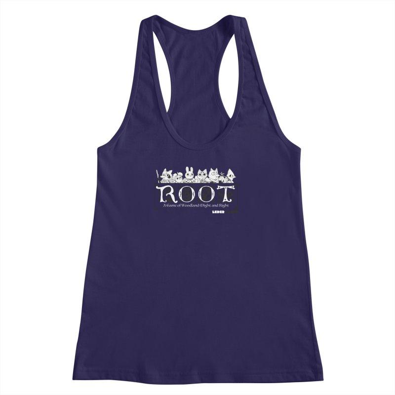 Root Logo Women's Racerback Tank by Kyle Ferrin's Artist Shop