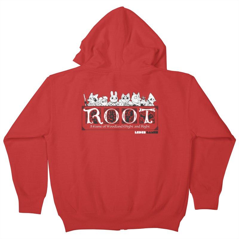 Root Logo Kids Zip-Up Hoody by Kyle Ferrin's Artist Shop