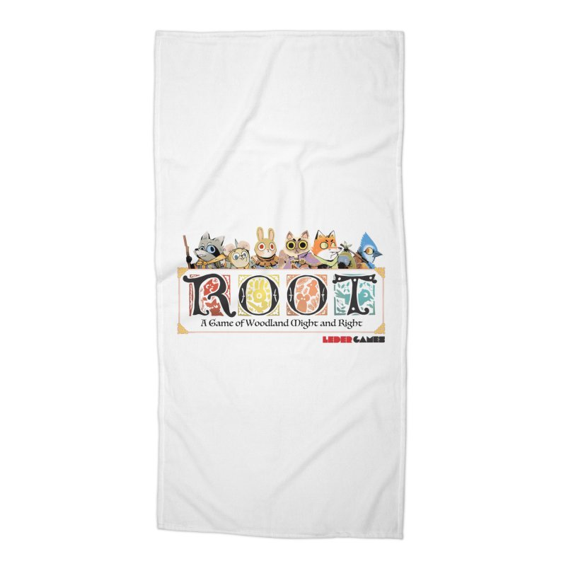 Root Logo - Full Color! Accessories Beach Towel by Kyle Ferrin's Artist Shop