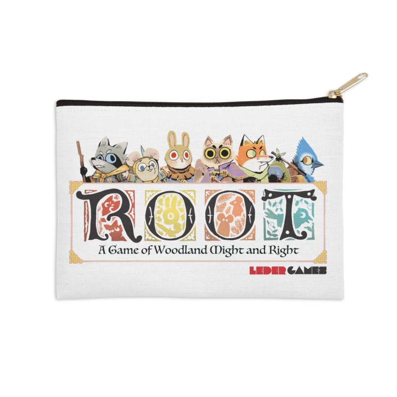 Root Logo - Full Color! Accessories Zip Pouch by Kyle Ferrin's Artist Shop