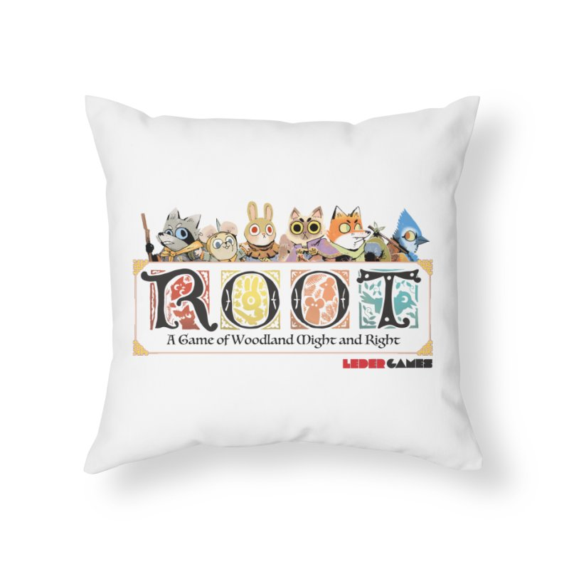 Root Logo - Full Color! Home Throw Pillow by Kyle Ferrin's Artist Shop