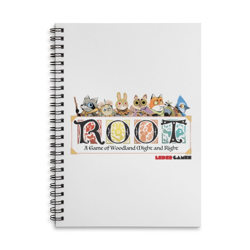 Root Logo - Full Color! Accessories Notebook by Kyle Ferrin's Artist Shop
