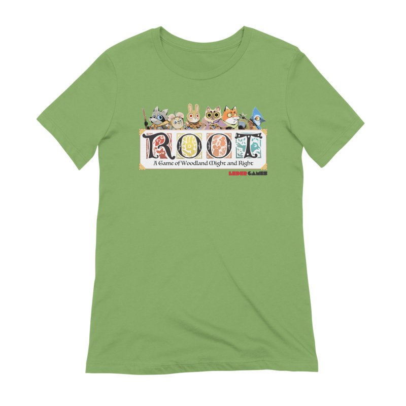 Root Logo - Full Color! Women's Extra Soft T-Shirt by Kyle Ferrin's Artist Shop