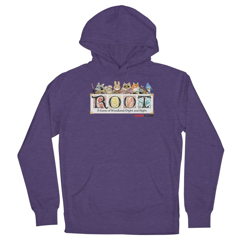 Root Logo - Full Color! Men's French Terry Pullover Hoody by Kyle Ferrin's Artist Shop
