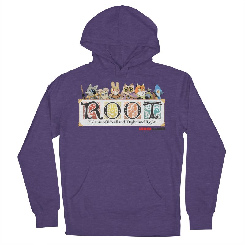 Root Logo - Full Color! Women's French Terry Pullover Hoody by Kyle Ferrin's Artist Shop