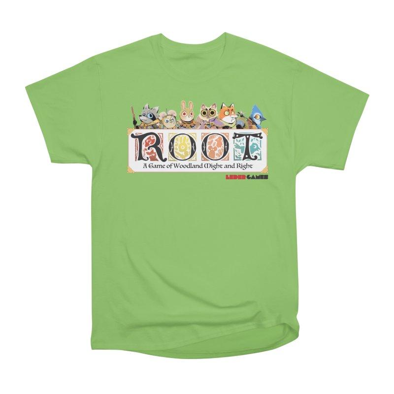 Root Logo - Full Color! Women's Heavyweight Unisex T-Shirt by Kyle Ferrin's Artist Shop