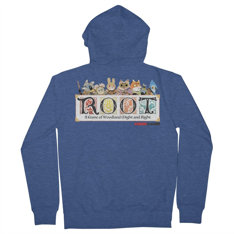 Root Logo - Full Color! Women's French Terry Zip-Up Hoody by Kyle Ferrin's Artist Shop