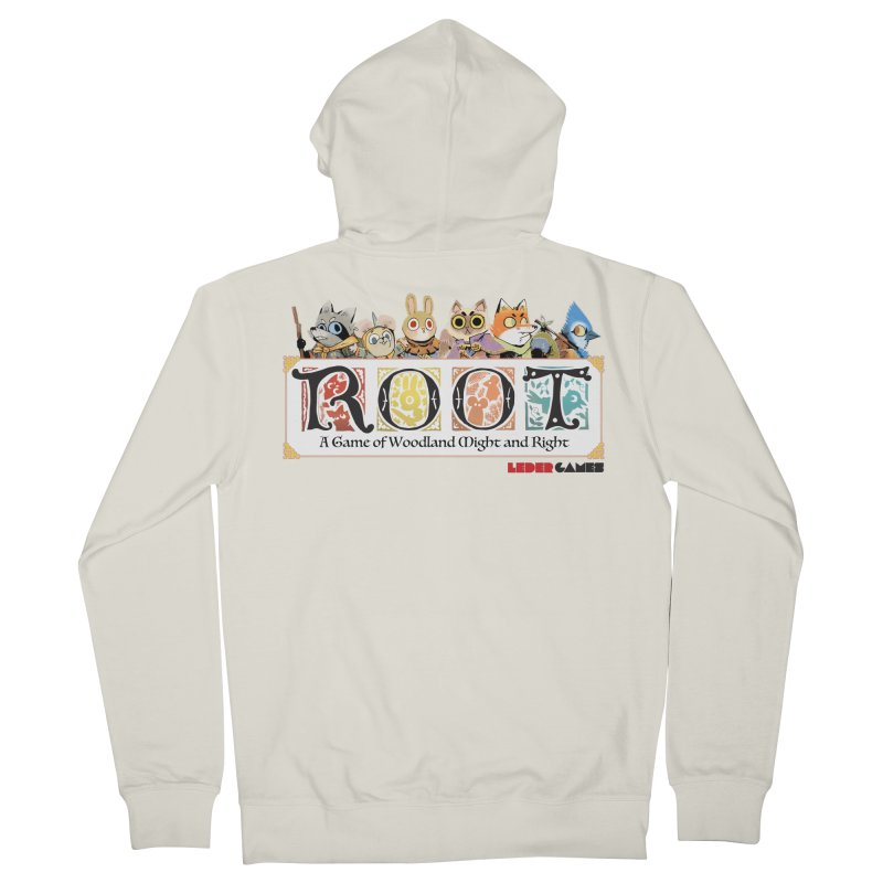 Root Logo - Full Color! Men's French Terry Zip-Up Hoody by Kyle Ferrin's Artist Shop