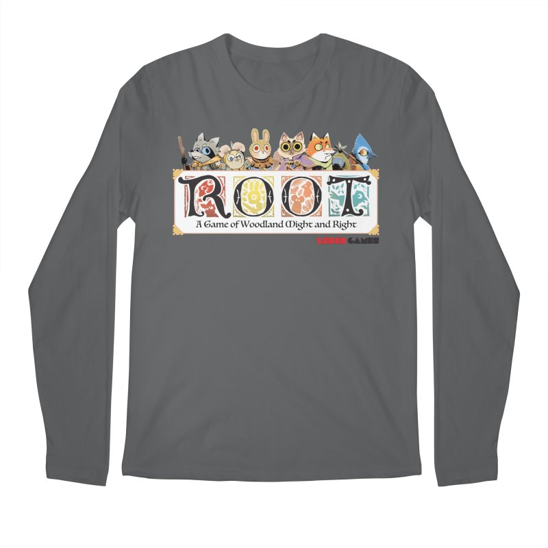Root Logo - Full Color! Men's Regular Longsleeve T-Shirt by Kyle Ferrin's Artist Shop