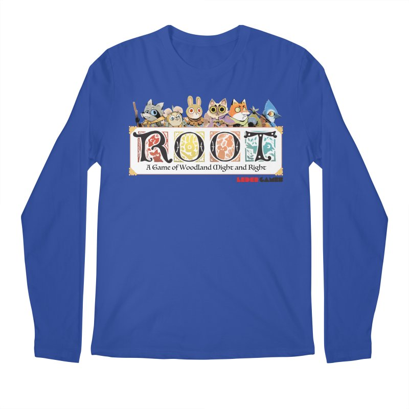 Root Logo - Full Color! Men's Longsleeve T-Shirt by Kyle Ferrin's Artist Shop