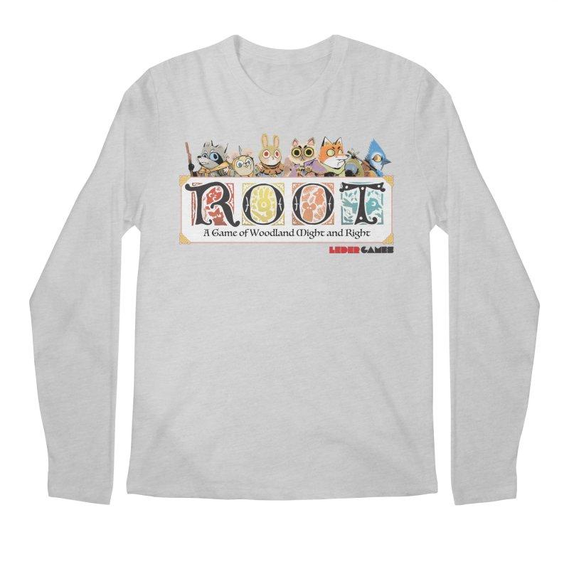 Root Logo - Full Color! Men's Regular Longsleeve T-Shirt by Kyle Ferrin's Artist Shop