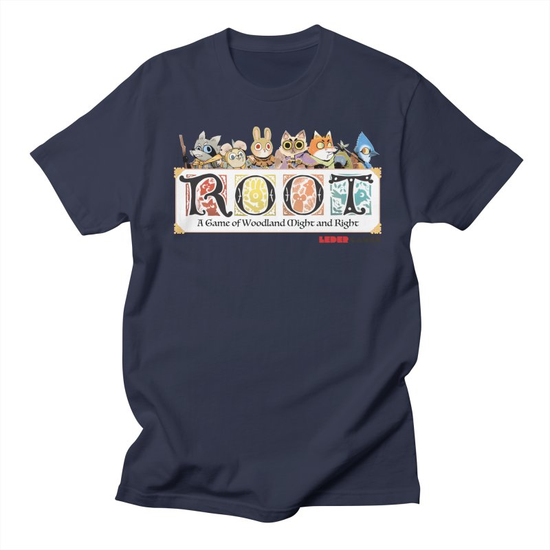 Root Logo - Full Color! Men's Regular T-Shirt by Kyle Ferrin's Artist Shop