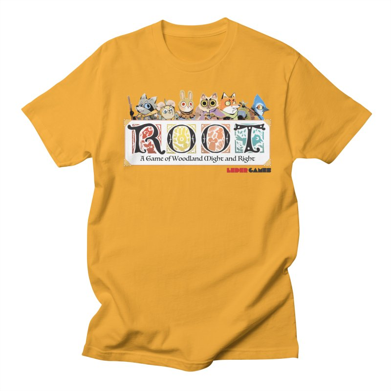 Root Logo - Full Color! Men's T-shirt by Kyle Ferrin's Artist Shop