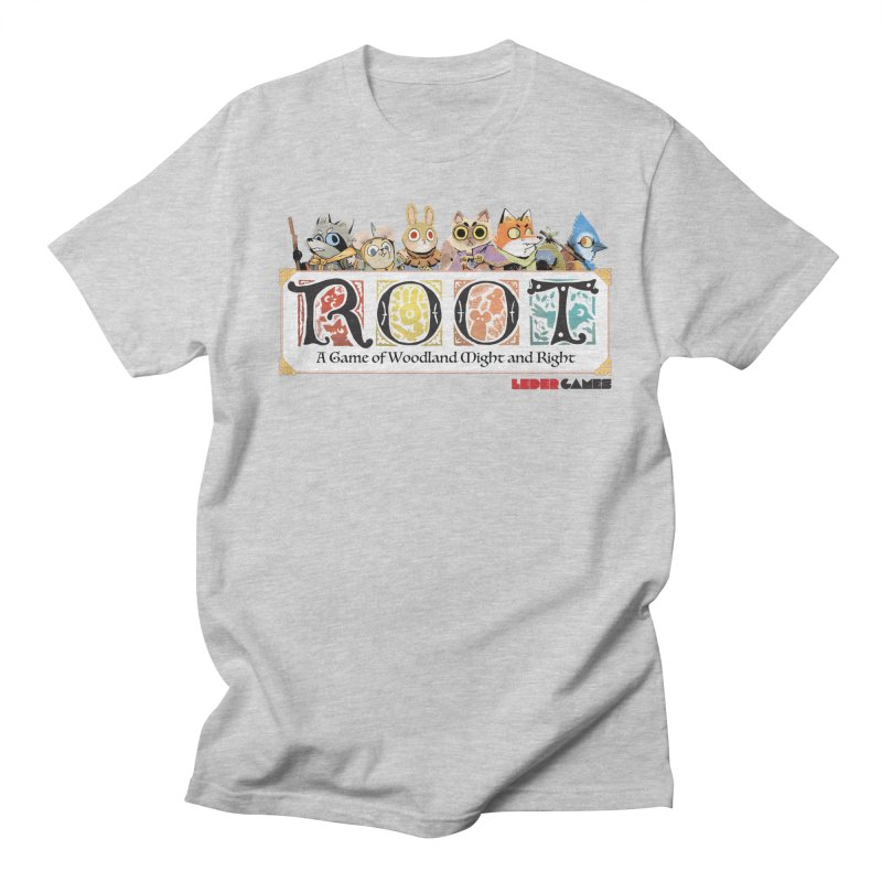 Root Logo - Full Color! Men's Regular T-Shirt by Kyle Ferrin's Artist Shop