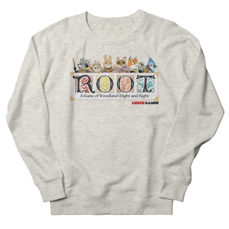 Root Logo - Full Color! Men's French Terry Sweatshirt by Kyle Ferrin's Artist Shop