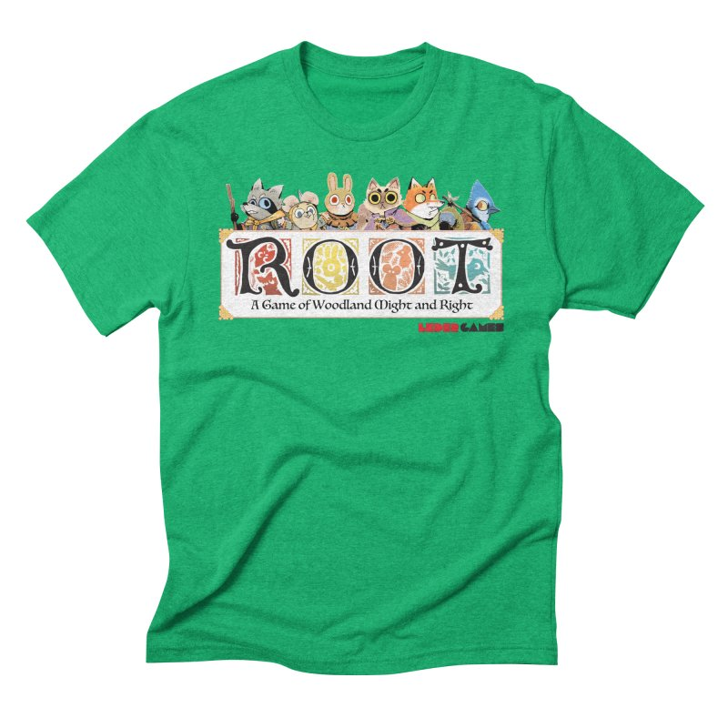 Root Logo - Full Color! Men's Triblend T-Shirt by Kyle Ferrin's Artist Shop