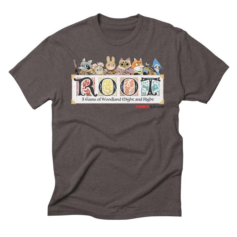 Root Logo - Full Color! Men's Triblend T-shirt by Kyle Ferrin's Artist Shop