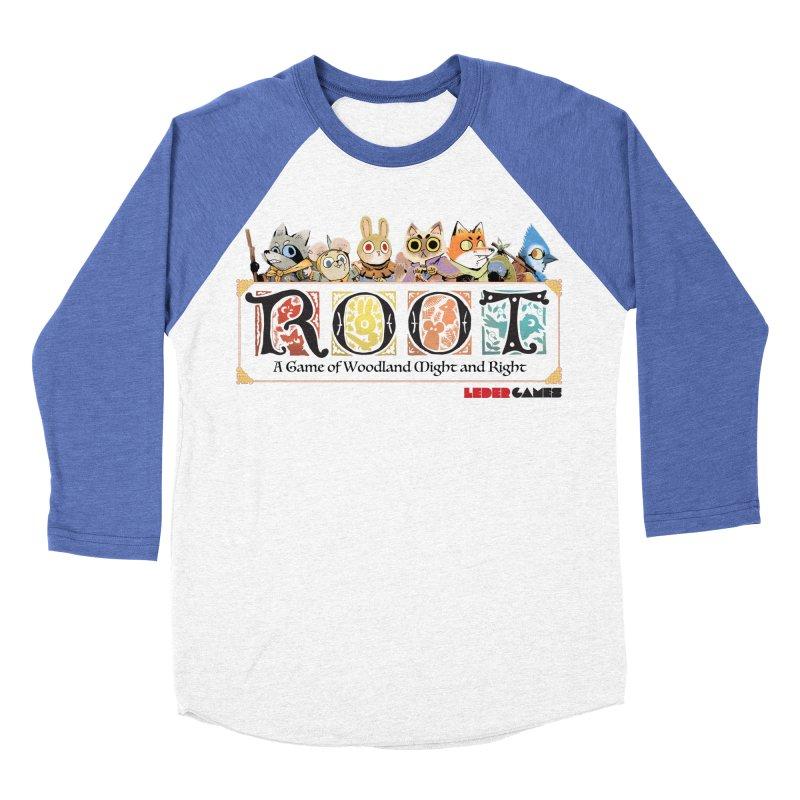 Root Logo - Full Color! Men's Baseball Triblend Longsleeve T-Shirt by Kyle Ferrin's Artist Shop