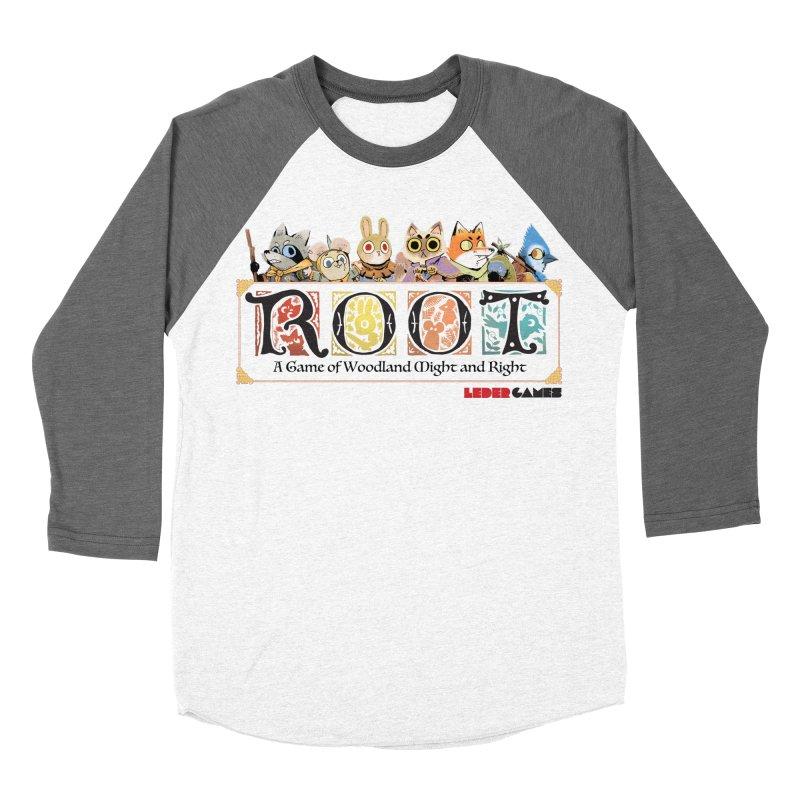 Root Logo - Full Color! Men's Baseball Triblend T-Shirt by Kyle Ferrin's Artist Shop