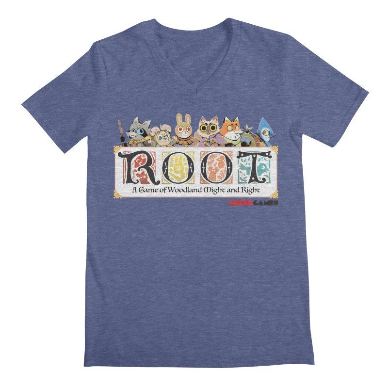 Root Logo - Full Color! Men's V-Neck by Kyle Ferrin's Artist Shop