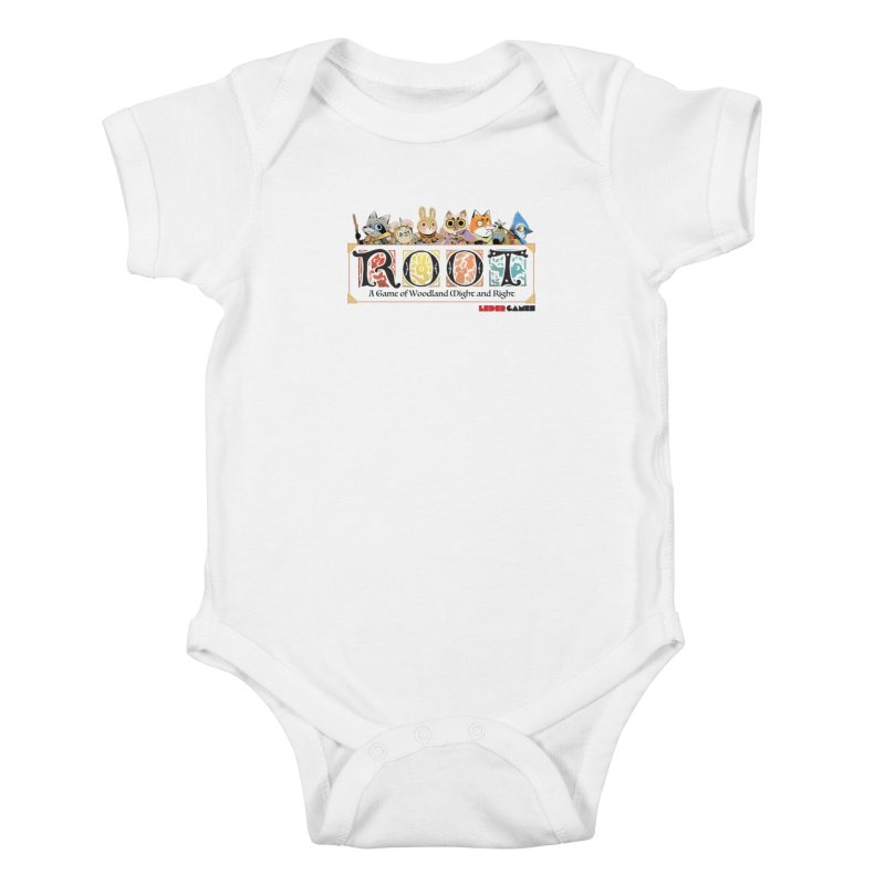 Root Logo - Full Color! Kids Baby Bodysuit by Kyle Ferrin's Artist Shop